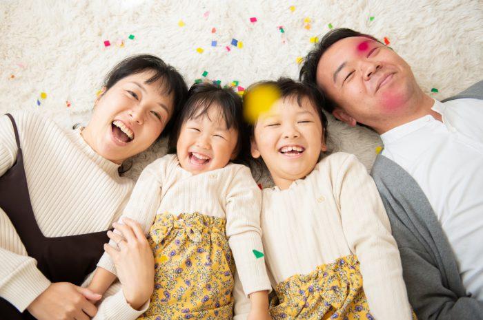 家族写真,渋谷スタジオ撮影