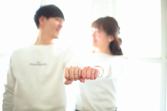 結婚指輪お披露目