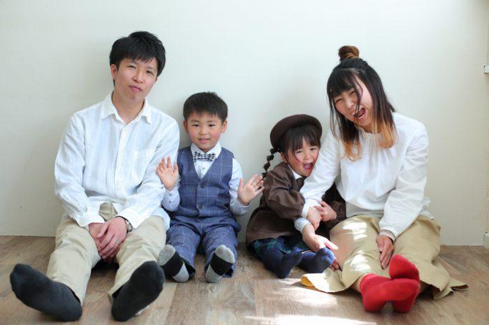 仲良し家族,家族写真