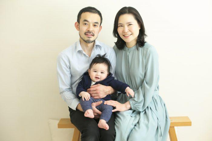 家族写真,ハーフバースディ
