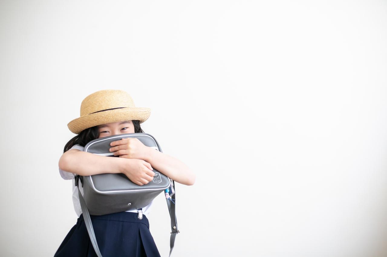 卒園記念写真,スタジオ撮影,幼稚園制服,夏服