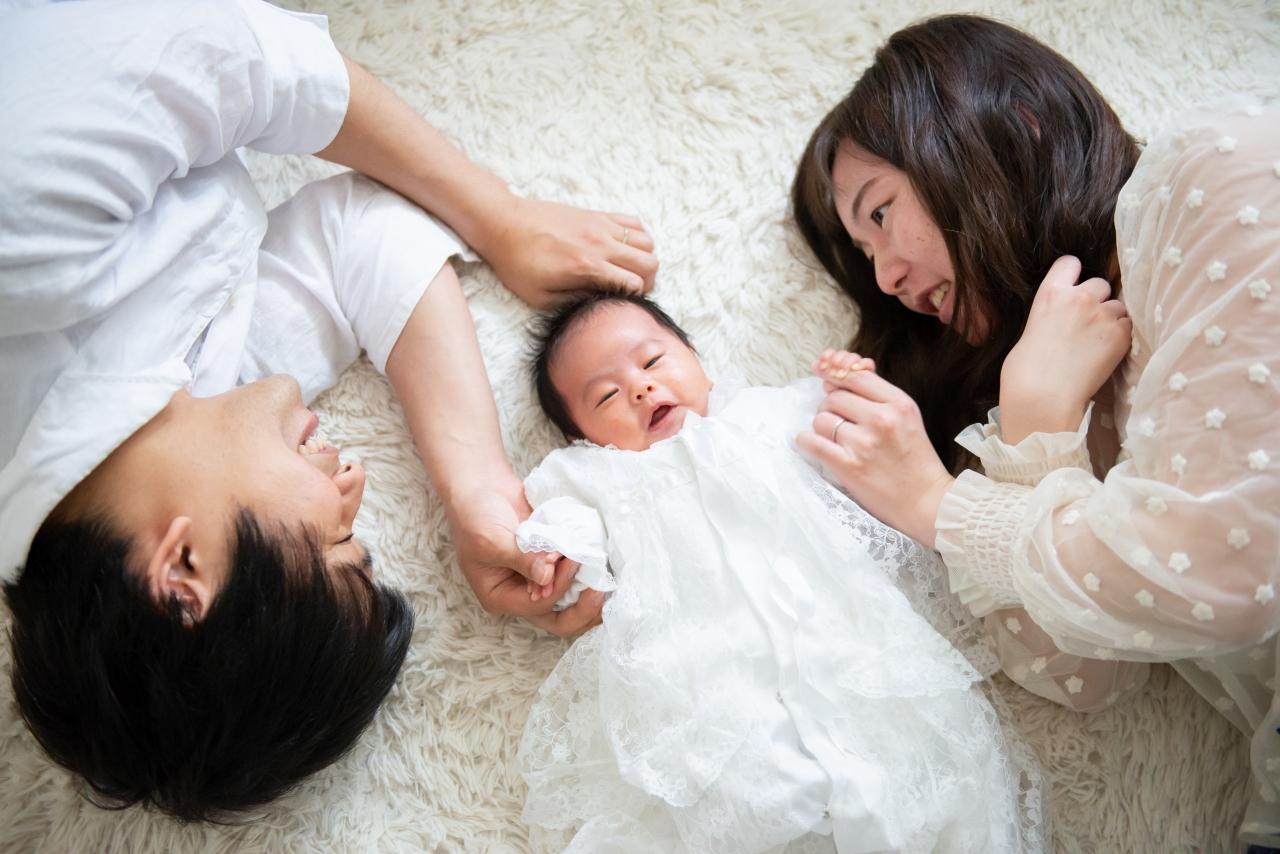 ニューボーンフォト,生後1か月