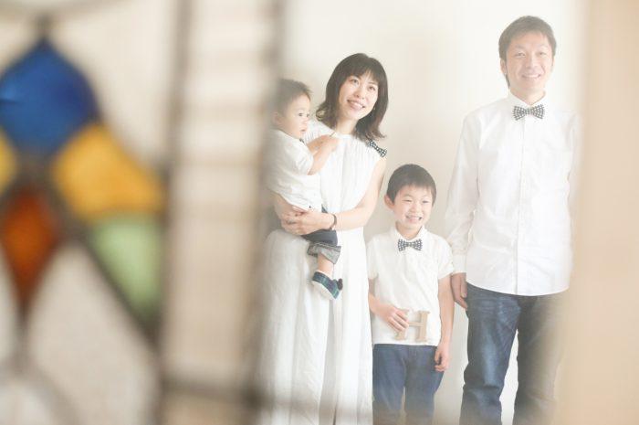 4人家族,写真撮影,家族写真,撮影,スタジオ撮影,渋谷スタジオ,富ヶ谷スタジオ撮影,STUDIO撮ろうよ
