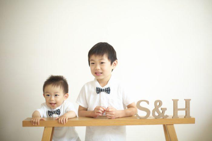 兄弟写真,兄弟記念写真,家族写真