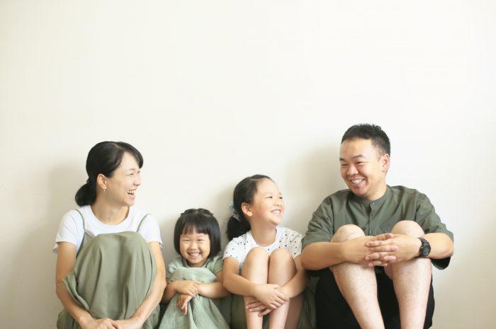 毎年恒例の家族写真