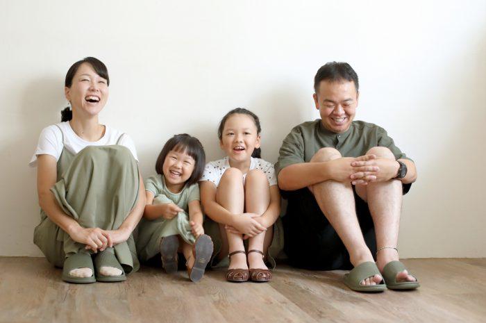 家族写真,4人家族