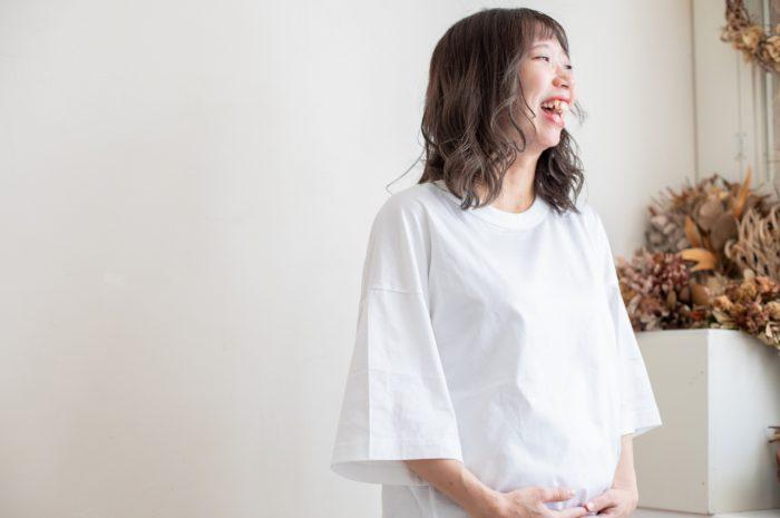 マタニティフォト,渋谷スタジオ,32週,妊娠32週,かわいい,STUDIO撮ろうよ,明るいスタジオ