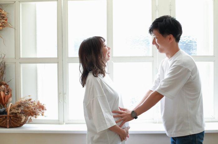 マタニティフォト,渋谷スタジオ,32週,妊娠32週